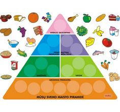 Make a paper food piramid:)