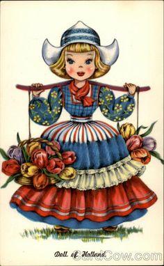 Doll of Holland Dutch Children
