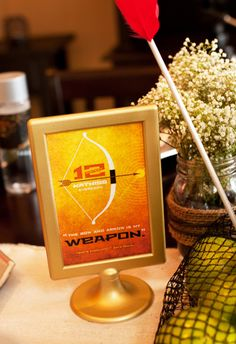 Hunger Games Party Ideas + FREE Printables! Not that I plan on having a Hunger Games party, but still...