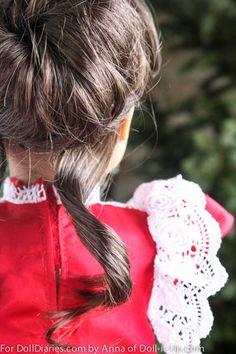 ag doll hair care styles