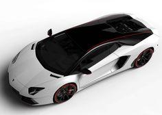 New  Lamborghini Aventador Pirelli Limited Edition