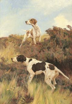 Собаки, лошади, охота от Томаса Блинкса ~ ART GALLERY ARTIST +7 (915) 453-10-74