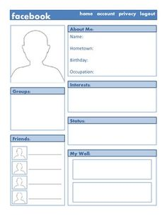 facebook templates for projects - mn on pinterest social studies interactive notebooks