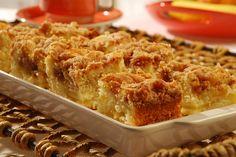 A cuca de maçã é um doce saboroso e fácil de preparar. (Foto: Divulgação)