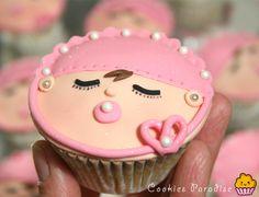 Cookies Paradise: Cupcakes Bebé!! Moniiiiisimos!!!!!