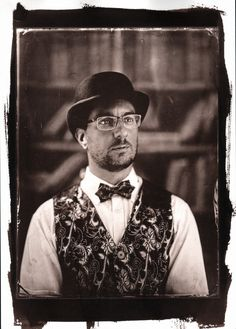 VanDyke print from 18x24cm collodion wet plate glass negative http://blenditak.blogspot.hu/2017/09/onportre.html
