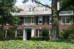 Grace Kelly's childhood Philly home.  2 streets away from me and sparks my daily day dream of being a movie star