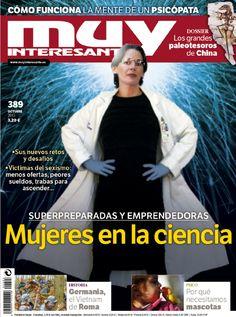Mujeres en la ciencia es el tema de portada del último número de Muy Interesante, correspondiente al mes de octubre de 2013. ¡No te lo pierdas!