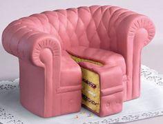 Pink Sofa- Cake