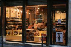La Cave A Bulles - Craft Beer Store. Brewery Design, Restaurant Design, Restaurant Bar, Beer Store, Liquor Store, Craft Beer Shop, Beer Growler, Bottle Shop, Retail Store Design