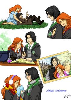I dont ship Snape/Lily but I can just imagine how different he wouldve been if she had loved him back