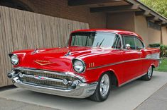 1957 Chevrolet Bel Air I had this exact same color and everything to the hardtop mint condition