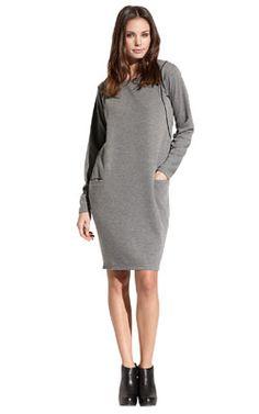 Super comfy sweat dress - love it for sundays