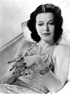Hedy Lamarr, my inspiration since 6th grade - that a woman can invent something life-changing enough to end up in a history book, in a 'male industry' (weren't they all in her day?),  and be a gorgeous lady as well; that beauty and brains weren't mutually exclusive, and you can do with them whatever you please, whether society is set up for it or not - MAKE IT SO, lol :) Ideas that blew my little mind in 1993.