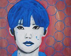 """Saatchi Art Artist Juan Mildenberger; Painting, """"Síndrome de China"""" #art (Woolf)"""