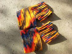 redclovercrochet: Yoga socks # 1