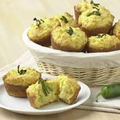 Spicy Corn Muffins with Jalapenos, Recipe from Cooking.com