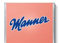 Station 1 - Gewinne Radurlaub im Burgenland | Manner.com Manners, Logos, School, Desserts, Chocolate Pies, Bakken, Tailgate Desserts, Deserts, Logo