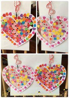 Nos coeur en coeurs (plus de détails sur leur réalisation sur le blog)
