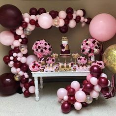 Pink Balloons, Wedding Balloons, Confetti Balloons, Baby Shower Balloons, Birthday Balloons, Latex Balloons, Ballons Roses, Bachelorette Decorations, Baby Shower Decorations