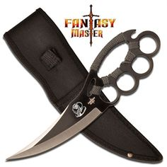 Chakra Blade Knuckle Guard Knife For Sale | All Ninja Gear: Largest Selection of Ninja Weapons | Throwing Stars | Nunchucks