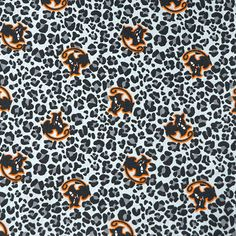 Halloween Cotton Spandex - Cats