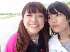 zeroreview:  Ikuta Erika/Matsumura Sayuri Source: Nogizaka46 Official Blog