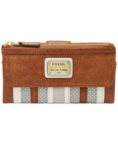 3c2214597a0d Fossil Emory Leather Wallet & Reviews - Handbags & Accessories - Macy's