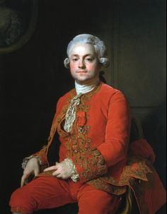 Portrait of Monsieur de Buissy, 1745, Joseph Siffred Duplessis (Carpentras 1725 – 1802 Versailles) National Gallery of Canada, Ottawa.