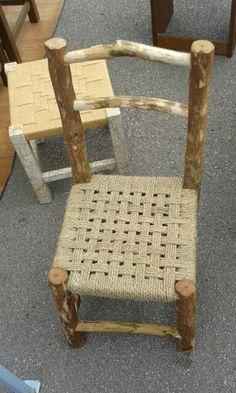 Twine chair bottom