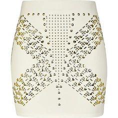 Studded skirt <3