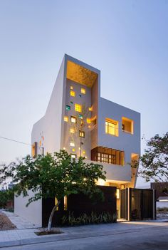 2H House by Truong An architecture