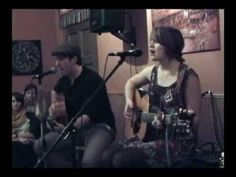 """Down the Road"" by Sarah Summers and Sean Carscadden live at Kathmandu corner, Sonoma California December 23rd 2012"