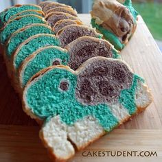 turtle bread!    WHAT?