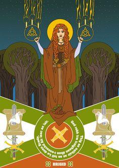 Brigid, celtic goddes  Thanks for the help, satanuwka