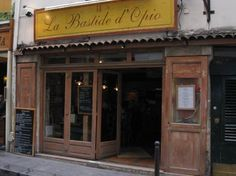 Fave restaurant in Paris.  Rue Guisarde in the 6th.