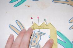 The Fashionable Past: Triangle Trim Tutorial!