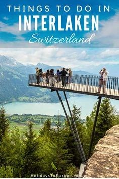 Things to Do in Inte Things to Do in Interlaken Switzerland // Whether you like your vacations packed with adventure sports or more sedate excursions Interlaken is the ideal destination. In this post you'll learn: What to do in Interlaken Switzerland Summer, Switzerland Travel Guide, Switzerland Itinerary, Switzerland Vacation, Switzerland Interlaken, Cool Places To Visit, Places To Travel, Travel Destinations, Travel Things
