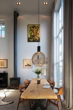 zu Hause in Amsterdam Noord - Olivia - Moodboard Innenarchitektur Amsterdam Living, Amsterdam Houses, Farmhouse Style Kitchen, Modern Farmhouse Kitchens, Style At Home, Room Interior, Interior Design, Deco Addict, Banquettes
