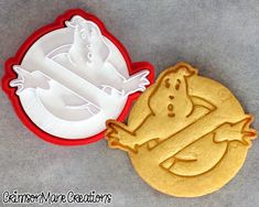 Ghostbusters Cookie Cutter by CrimsonManeCreations on Etsy