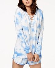 1ca74f3e481 Jessica Simpson TheWarmUp Juniors  Tie-Dyed Sweatshirt. Update your sporty  look with this