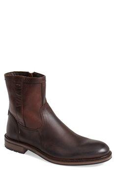 J amp M 1850 J amp M 1850  Fulton  Shearling Zip Boot (Men 608e4067ecd0b