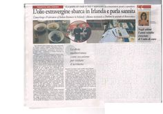 """Grande articolo de """"Il Sannio Quotidiano"""" sulle attività della FIBI e le opportunità dell'olio italiano in Irlanda!!"""