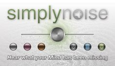 SimplyNoise is the best free color noise generator on the Internet!