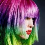 2014 Hot Ombre& Highlights Trend: 30 Rainbow Colored Hairstyles for Chic Women to Try