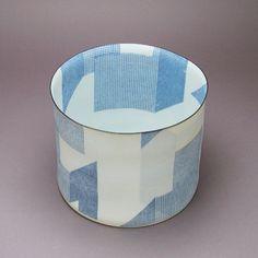 Bodil Manz - Eggshell Porcelain cylinder