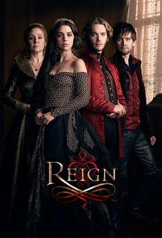 """""""Reign"""" ~ Megan Follows as Catherine de Medici, Adelaide Kane as Mary 'Queen of Scots' Stuart, Toby Regbo as King Francis, and Torrance Coombs as Sebastian"""
