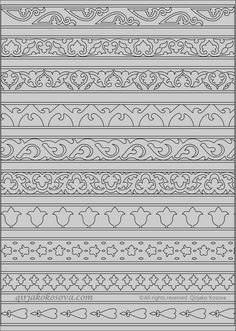 Embroidery patterns - Russian-esque