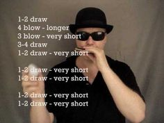 Blues harmonica lessons: I'm a Man & Mannish Boy riffs - how to play for beginners Piano Man Harmonica, Harmonica How To Play, Harmonica Lessons, Guitar Chords For Songs, Guitar Tips, Learn To Play Guitar, Music Guitar, Music Lessons, Playing Guitar