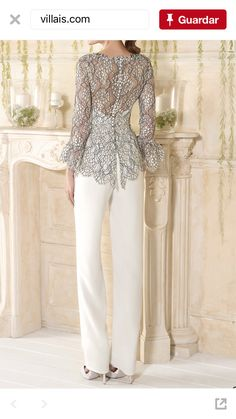 Dress celana Women's Fashion Dresses, Hijab Fashion, Dress Outfits, Evening Gowns With Sleeves, Evening Dresses, Dress Over Pants, Mother Of The Bride Suits, Brokat, Gala Dresses